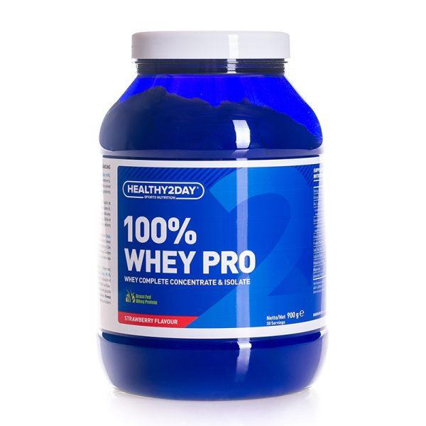 100% Whey-Pro (900 gram) Strawberry