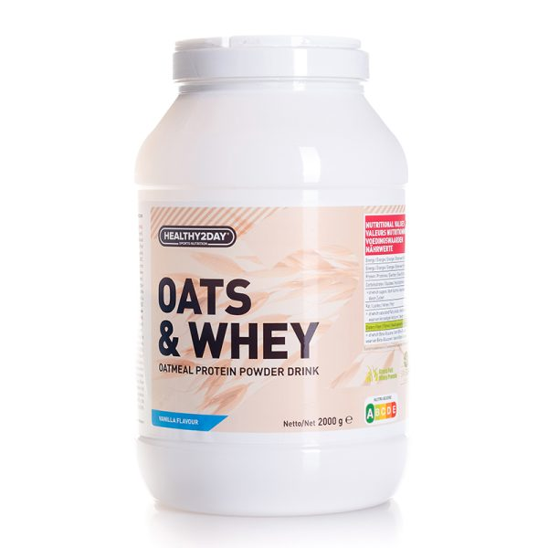 OATS & WHEY (2000 gram) Vanilla