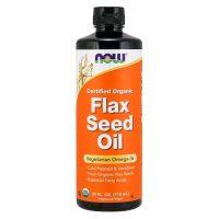 Certified Organic Flax Seed Oil (710 ml)