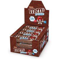 M&M's Hi Protein Chocolate Bar (12x51g)
