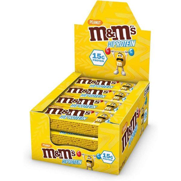 M&M's Hi Protein Peanut Bar (12x51g)