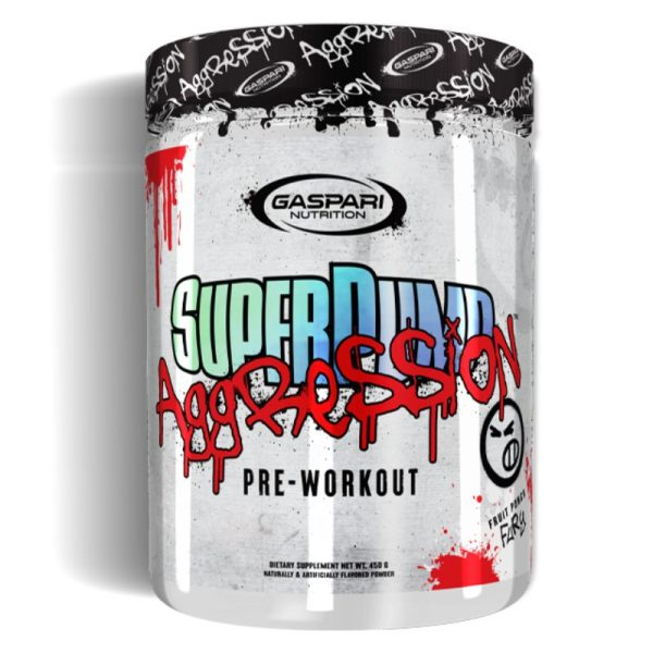 SuperPump Aggression (25 Servings) Fruit Punch