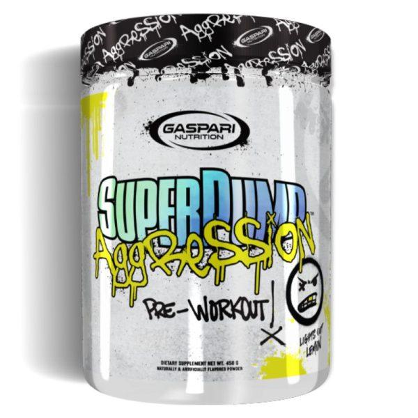 SuperPump Aggression (25 Servings) Lights Out Lemon