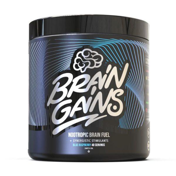 Nootropic Brain Fuel - Black Edition (40 servings) Blue Raspberry