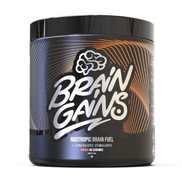Nootropic Brain Fuel - Black Edition (40 servings) Mango