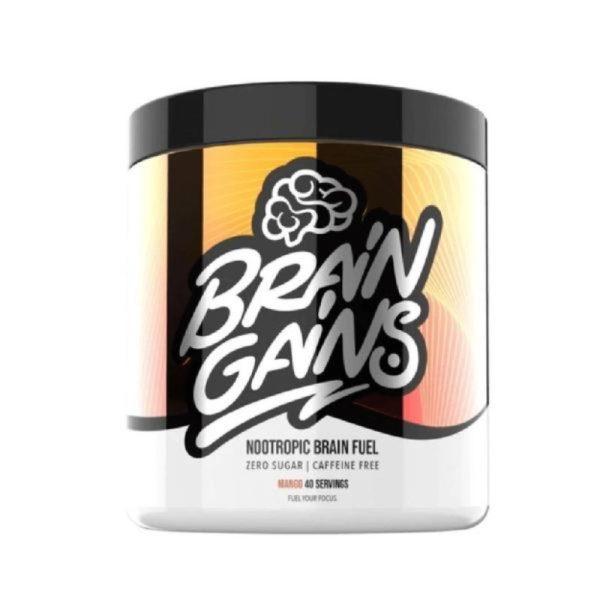 Nootropic Brain Fuel – Cafeïne Free (40 servings) Mango