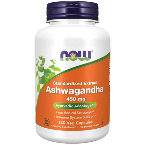Ashwagandha Extract 450mg (180 Vcaps)
