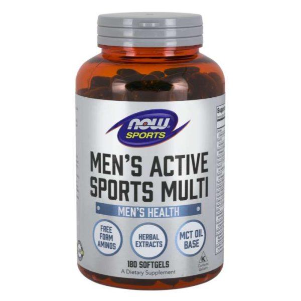 Men's Active Sports Multi (180 Softgels)