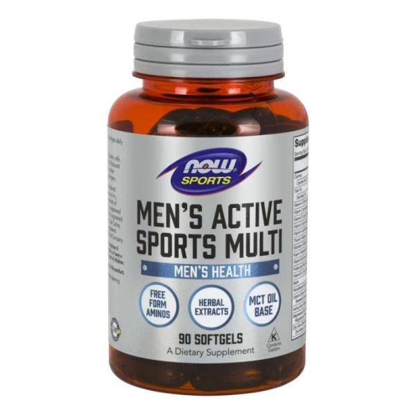 Men's Active Sports Multi (90 Softgels)