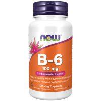 Vitamin B-6 100mg (100 Vcaps)